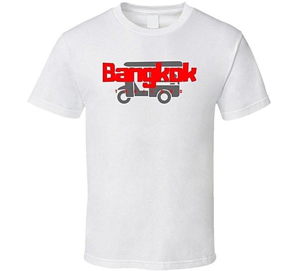 Bangkok, Tailândia Tuktuk T Shirt Engraçado frete grátis Unisex top casual
