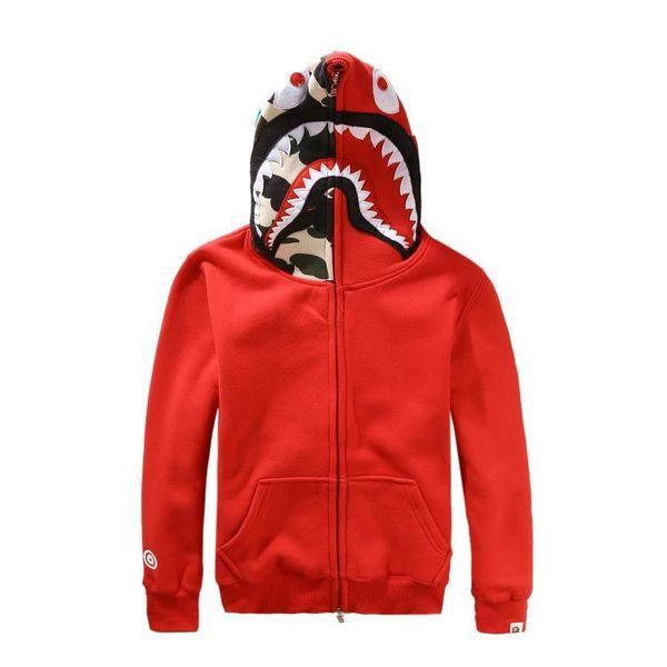 Fashion Mens Women Sportwear Coat Jogger Tracksuit Pullover Fleece Sweatshirt Crewneck Bird Ovo Drake Black Hip Hop Stusay Hoodie Men Shark