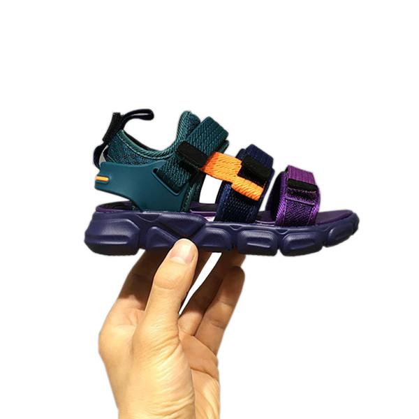 Ribbon sports shoes kids sandals children soft sole beach shoes Boys Girls sandals Outdoor Quality toddler Little summer