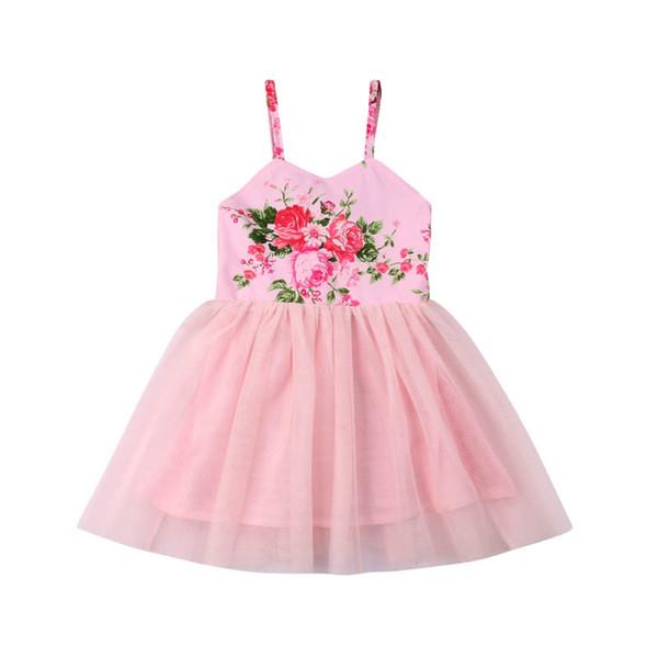 106e242631 Ins Tutu vestido de las niñas 2019 nueva ropa de verano para niños vestidos  de niñas