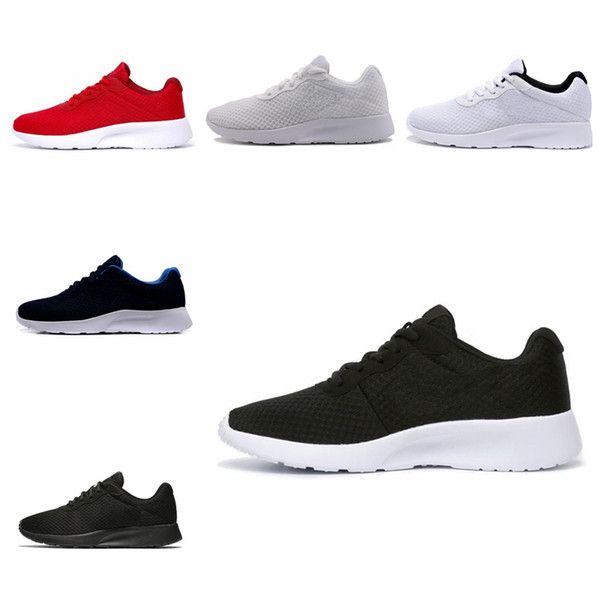 Top Hot sale Tanjun Run Running Shoes men women black low Lightweight Breathable London Olympic Sports Sneakers mens Trainers size 36-44