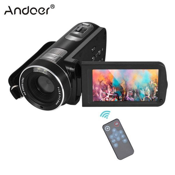 1080P Full HD Digital Video Camera Camcorder 16x Digital Zoom with Rotation LCD Touch Screen Face Detection Video Camera