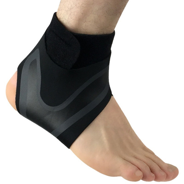 2018 New Adjustable Ankle Support Pad Pressure Anti-Spinning Elastic ankle brace Breathable ankle weights Support Rn #179938