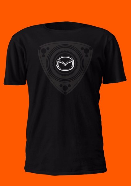 Tomada de fábrica Camisa Rotativa Preto 100% Algodão Wankel Rx-8 Miata Mx-5 Rx-7 Importação T Camisa dos homens Branco de Manga Curta Dia de Ação de Graças Personalizado Bi
