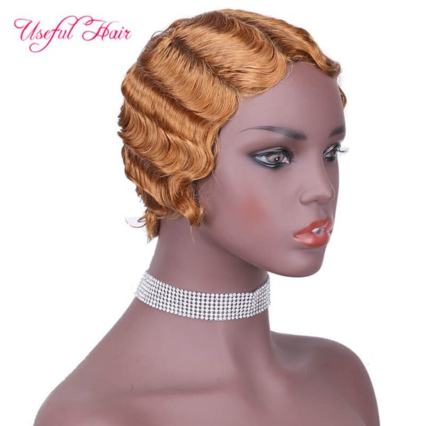 # 27 cheveux humains perruques NO.9012
