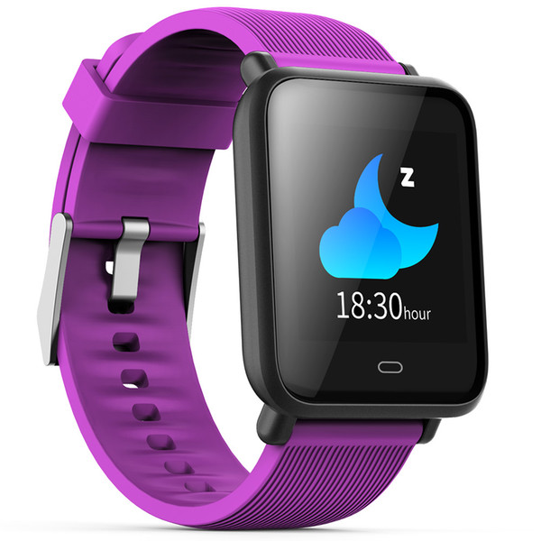 top popular Smart Watch Colorful Screen Sleep Heart Rate Monitor IP67 Waterproof Sports Men Women Smartwatch For Android and IOS 2020