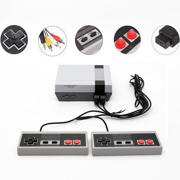 Mini consoles de videogame 620 500 jogos portáteis sistema de entretenimento do jogador para ns clássico nostálgico host berço av saída retro