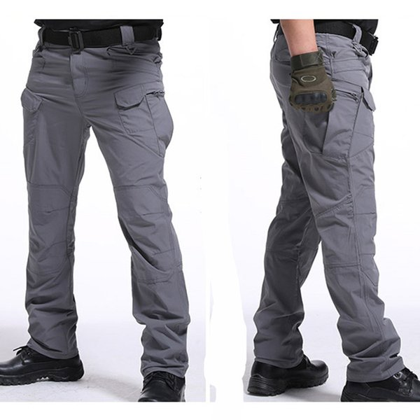 Spring IX9 Tactical Pants Herren Kampfhose SWAT Army Training Pants Sommer Cargo Style lässig