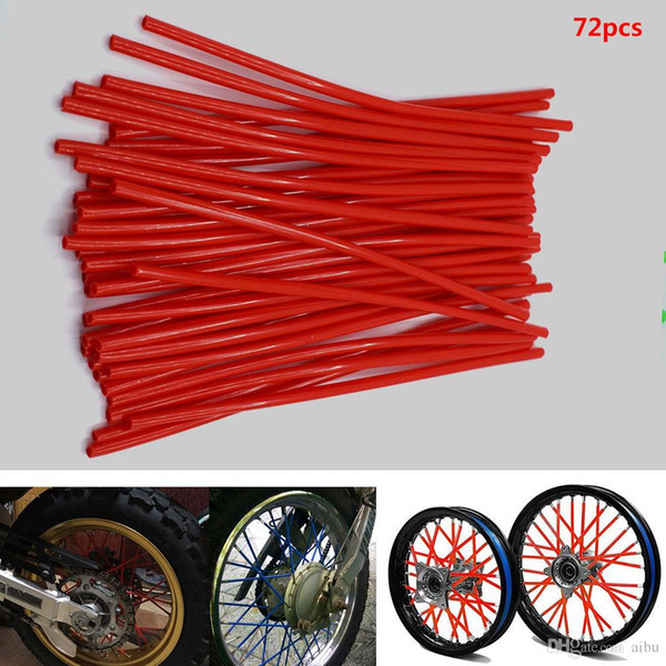 For Motorcycle Dirt Pit Bike Wheel Skin Cover Wrap Tube Decoration Protector for KTM 450 400 525 SX EXC MXC XC XCw