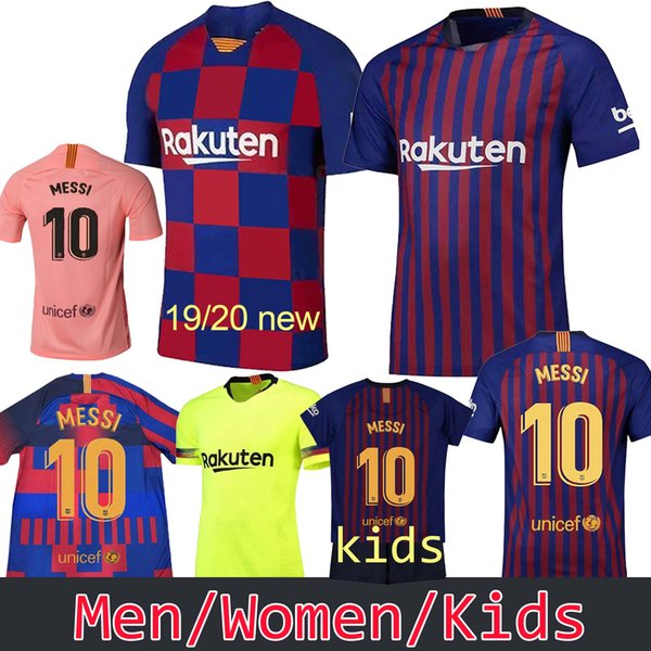 new products 3873f 0256e 2019 Barcelona 10 Messi 11 O.DEMBELE Home Soccer Jersey 7 COUTINHO 9 SUAREZ  Away Soccer Shirt 18 19 RAKITIC Short Sleeve Football Uniform From ...