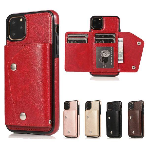 30 Pieza de venta del teléfono de la manera del paquete de la tarjeta para el iPhone 11 Pro X XR XS Max 6 7 8 Plus y Samsung Nota 10 Pro 9 8 S8 S9 S10 Plus