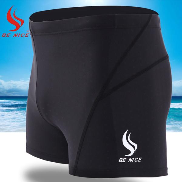 Benice hızlı kuru spor şort yüzme şort plaj katı sörf erkekler için süper su geçirmez mayo