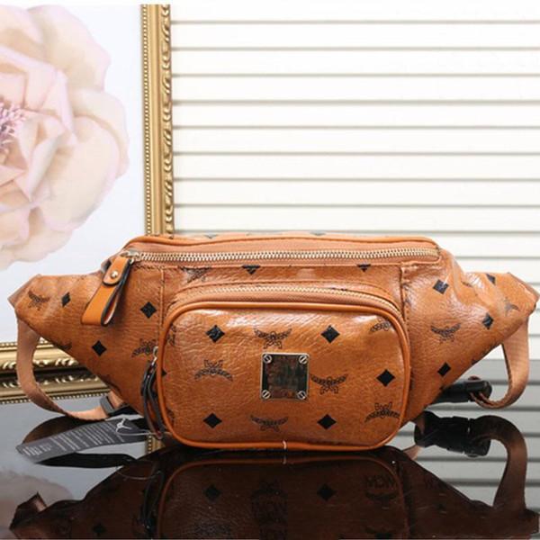 best selling New arrival women designer waist bag luxury M brand sport travel bag good quality leather bags