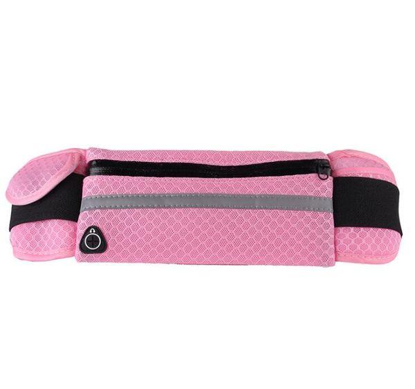 Running Bags Waist Water Bottle Outdoor Camping Hiking Fitness Man Women Gym Lightweight Belt Bag Female Sports Fanny Packs