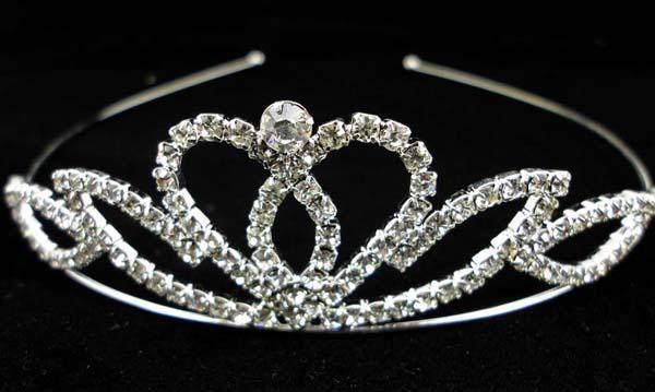 Corona diademi di Natale Concorso di Natale Principessa Compleanno Matrimonio / Feste Corona diadema in cristallo di alta qualità