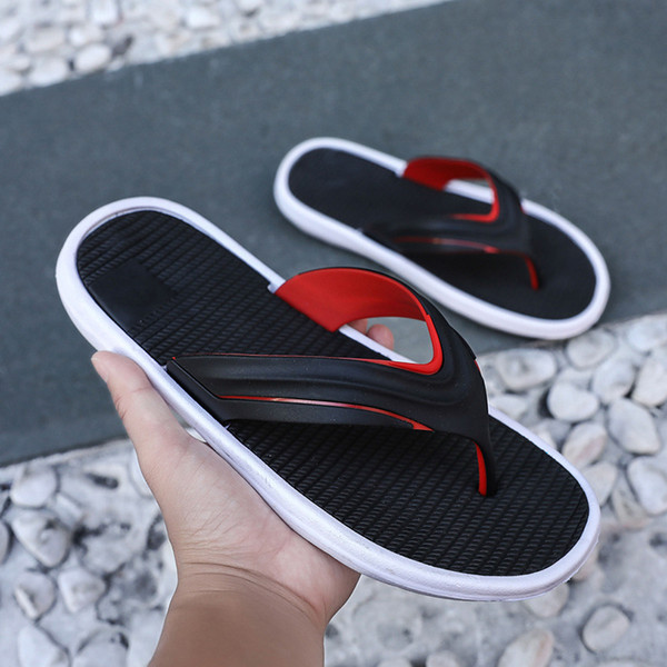 Summer Flip-flops Anti-skid Outdoor Cool Slippers Casual Fashion Beach Foot Male Drag
