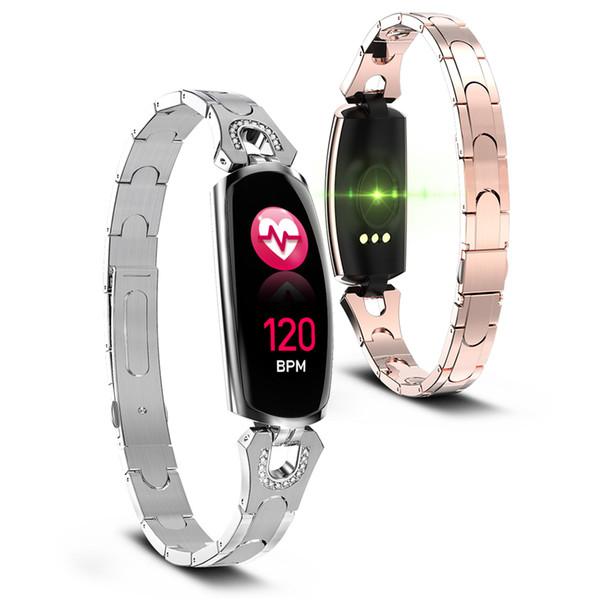Smart Bracelet Fitness Tracker AK16 New Women Lady Fashion Smart Wristband Heart Rate Blood Pressure Smart Watchs Band Female
