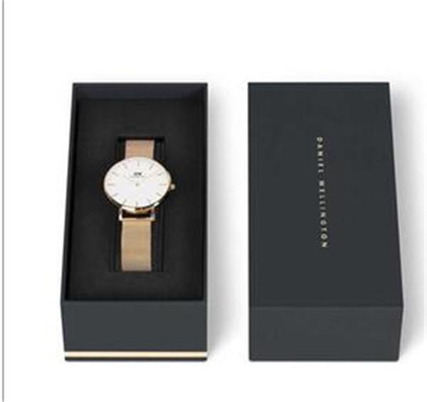 Orijinal Kutusu ile Yeni Daniel Wellington Kadın Saatler 32mm Moda Elbise DW Kuvars Kadın Hediye İzle Kadın Saat Lady Relogio Montre Femme