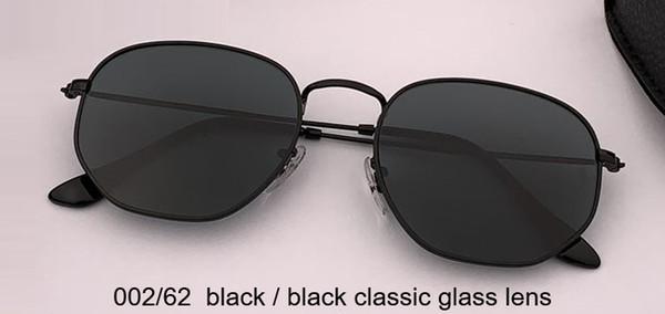 002/62 عدسة G15 سوداء / سوداء كلاسيكية
