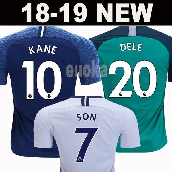 Thailand quality KANE spurs Soccer Jerseys 2018 2019 LAMELA ERIKSEN DELE  SON jersey 18 19 Football kit shirt Men and KIDS KIT SET uniform 4d320de87