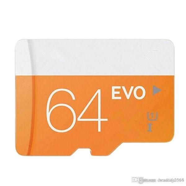 Tasarım Gerçek Kapasite 32 GB ~ 64 GB Micr SD Kart MicroSD TF Hafıza Kartı Sınıf 10 Flaş SDHC SD Uyum