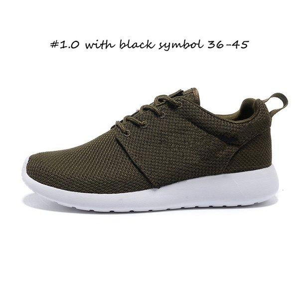 Siyah sembol 36-45 ile # 1.0