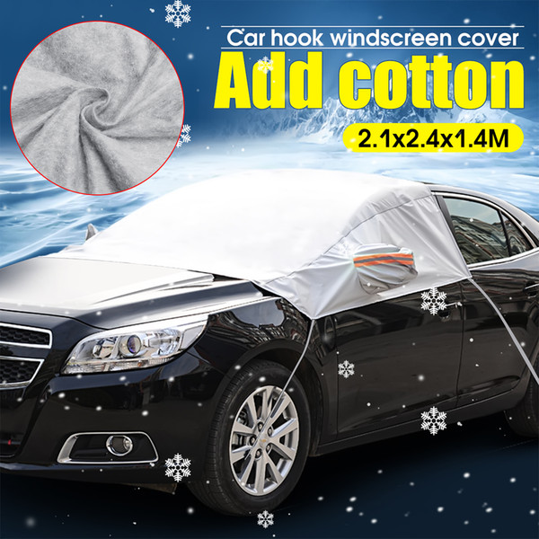 best selling Car Windscreen Windshield Cover Ice Snow Protection Sunshade Sun Visor Waterproof Dustproof Protector