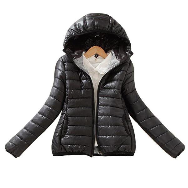 women 8-color upgrade edition super warm winter parka jacket coat ladies women jacket slim denim short basic padded breathable