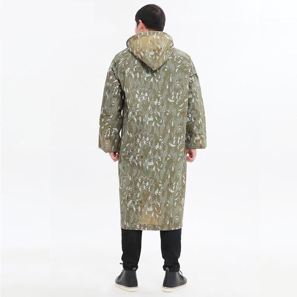 Imperméable femmes / hommes manteau de pluie légers vêtements de pluie imperméable poncho en plastique imperméable de pluie # 319455