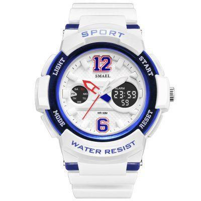 Quartz Watch for Women's Electronic Watch Colourful Sports Hip-hop Multifunctional Watch (Buy 10 and send one glasses)