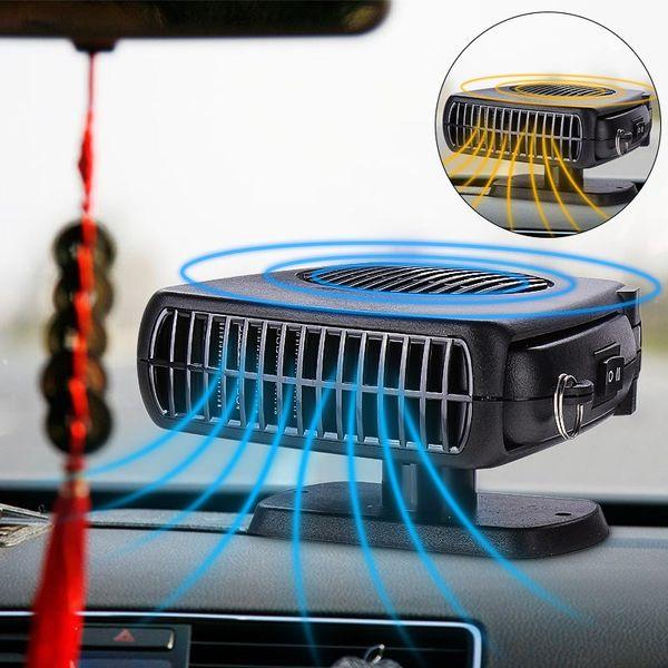 200W Car Heater 12V DC Heating Fan Defogger Defroster Demister Portable 2 in 1