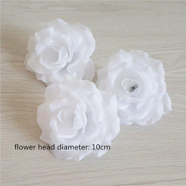 10cm tête de fleur rose