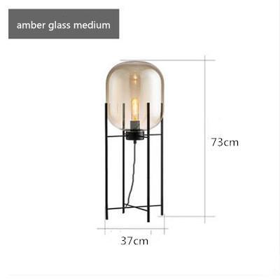 amber glass H73CM