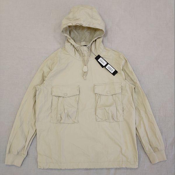 19ss 639f2 ghost piece smock/anorak cotton nylon tela pullover jacket men women coats fashion outerwear thumbnail