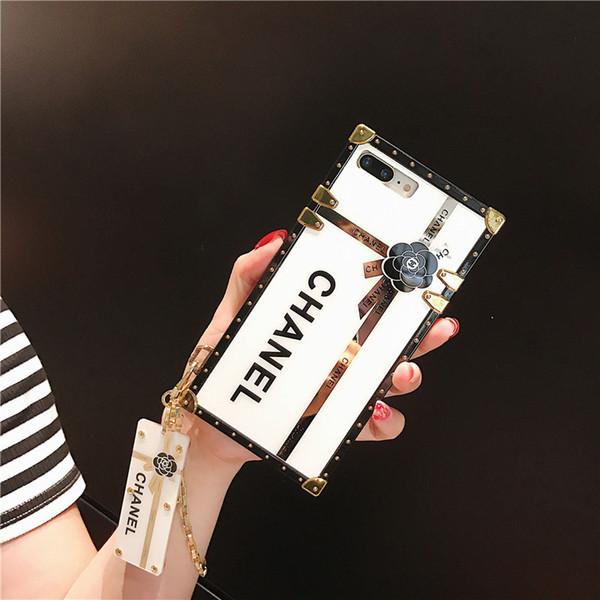 Telefon Kılıfı Için iPhone 11 Için pro max iPhone XS Için MAX X XR 8/7 Artı Zincir Bileklik Samsung Galaxy S10 S10 + S9 S9 + S8 + Not 9 DHL Ücretsiz Gemi