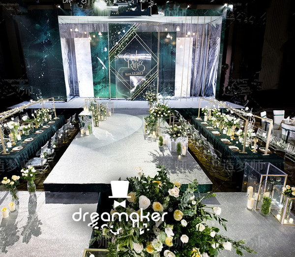 lattest style Wedding Stage Decoration Wintina Pipe and Drape stand, Backdrop For Event Party decor0599