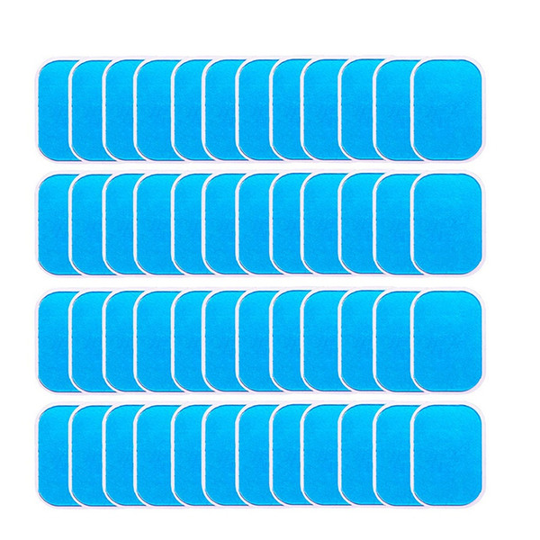 best selling 40Pcs Abs Stimulator Trainer Replacement Gel Sheet Abdominal Toning Belt Muscle Toner Ab Trainer Accessories