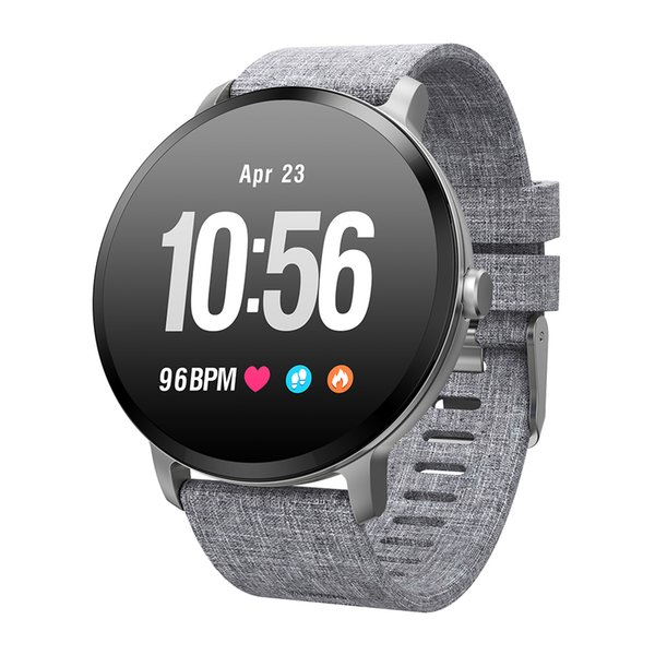 Smart watch IP67 waterproof Tempered glass Activity Fitness tracker Heart rate monitor BRIM Men women smartwatch