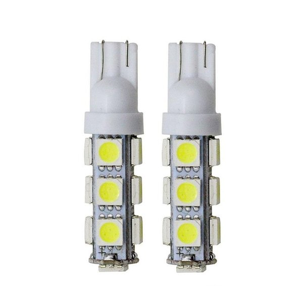 W5W T10 13SMD 5050 194 168 192 W5W T10 Led Auto Car Side Light Bulb Auto LED 12V Wedge Lamp Car Flood Light