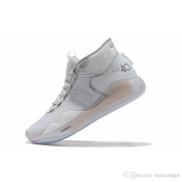 Zapatillas de deporte para hombre las zapatillas kd 12 Cool Grey Pink Easter Christmas Floral MVP lebron 16 kevin durant high top zapatillas con tamaño de caja