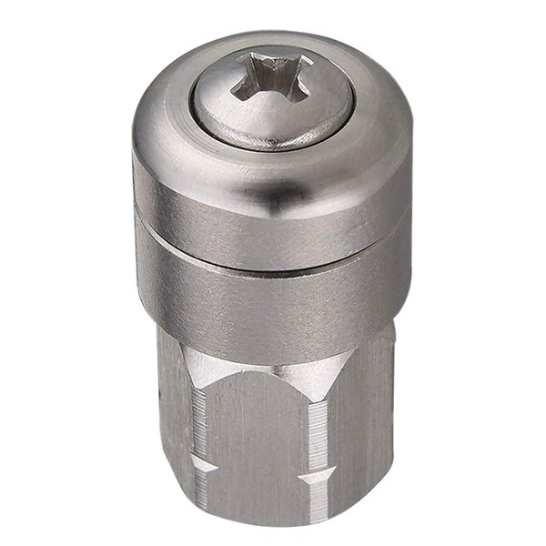 Pressure Washers Spinning Jetting Nozzle Sewer Jetter Nozzle For Pressure Washer, Rotating, 1/4 Inch Female Npt, 4000 Psi
