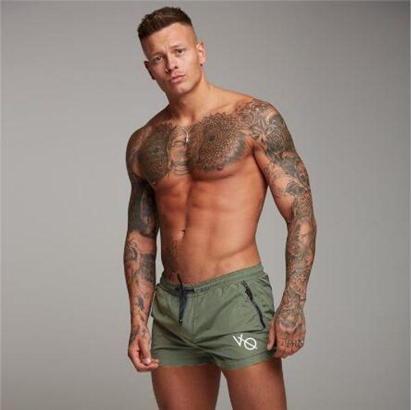 2018 New Men Gyms Fitness Bodybuilding Shorts Mens Summer Casual Cool Short Pants Male Jogger Workout Beach Brand Breechcloth