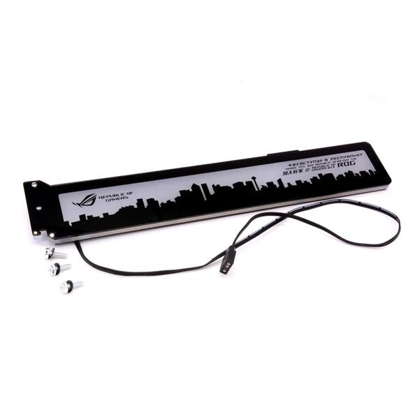 Изготовленный на заказ акриловый кронштейн для графической карты Brace с RGB Light Размер 280 * 45 * 6 мм Fix Fix Видеокарта, совместимая с системой AURA 12V RGB