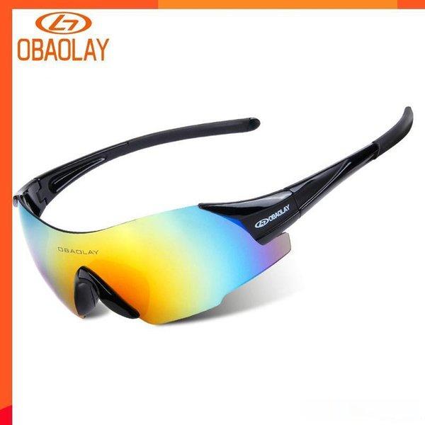 Nuovi occhiali di protezione di sport esterni antivento Occhiali Ciclismo Occhiali da sole Hd in bicicletta attrezzatura per l'escursionismo pesca guida di viaggio