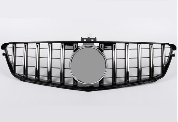 top popular For C CLASS W204 GT Mesh Grilles ABS Material 2007-2014 Racing Grills Replacement Kidney Grille Front bumper 2021