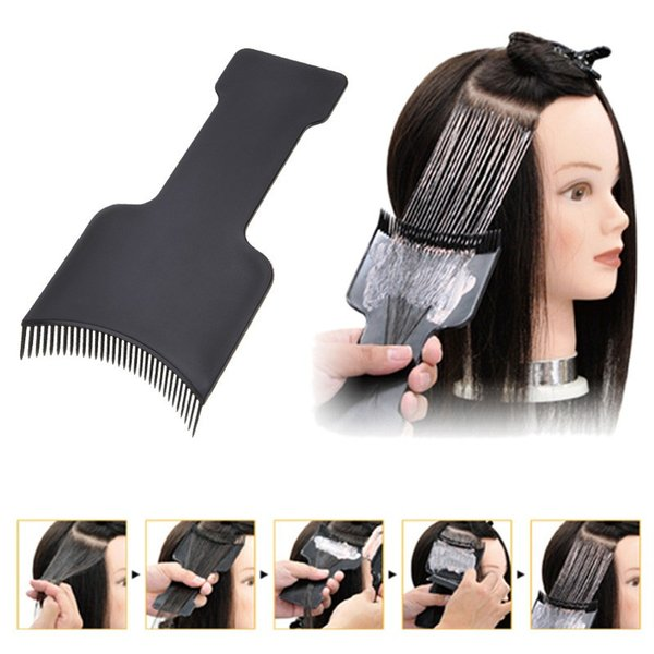 styling tools Professional Salon Hair Coloring Dyeing Applicator Brush Comb DIY Dispensing Tinting Highlighting Board Pro Salon Styling Tool