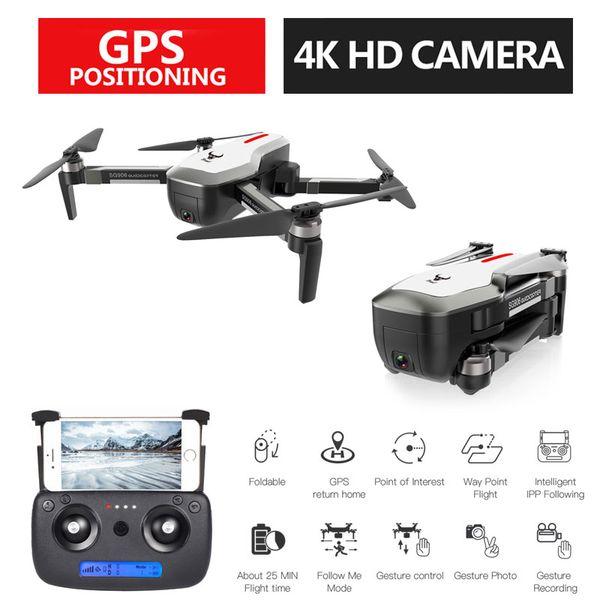 4 Karat Kamera HD Drohne 5G Wifi RC Quadcopter Drohne Video FPV Kamera Hubschrauber Spielzeug Drohne für Kinder spielzeug Dron SG906 Rc drohnen
