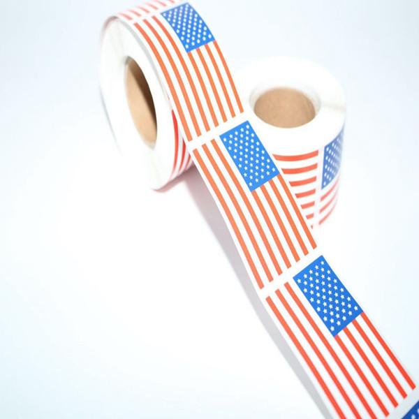 USA-Flaggen-Aufkleber