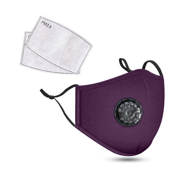 Фиолетовый(1 маска с 2 фильтрами)
