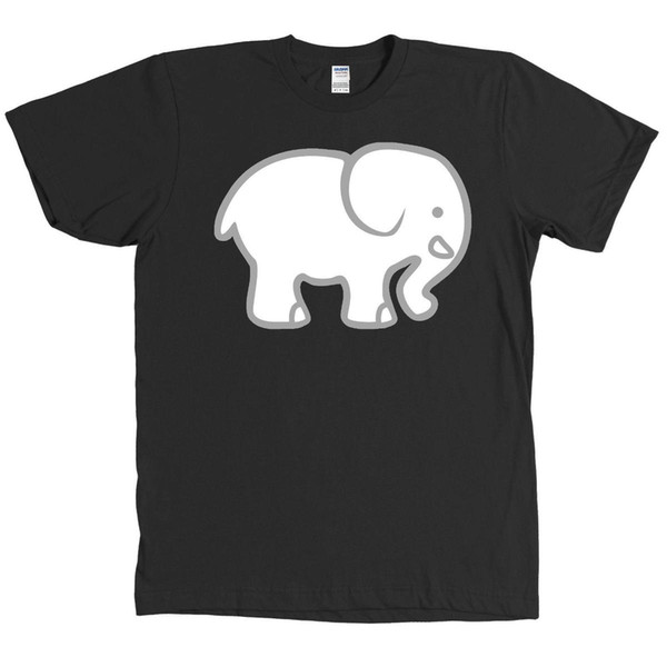 Troca do presente do elefante branco camiseta Presente original do feriado MUITAS CORES - NOVAS